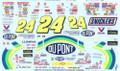 #24 DuPont 1992-94 Jeff Gordon