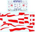 WW45 #36 Flag Scheme 2001 Ken Schrader