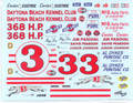 249 #3 Daytona Kennel Club 1961 Junior Johnson Jim Paschal
