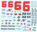 250 #6 Hedges Pontiac 1961 Ralph Earnhardt Cotton Owens
