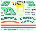 #23 Camel Thunderbird Hideo Fukuyama Jimmy Spencer