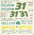 #31 Team Ireland/Maxx 1992 Bobby Hillin Jr