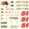 #51 Fruit of the Loom 1989 Butch Miller
