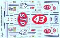 282 #43 STP 1992 Richard Petty