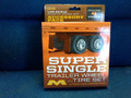 1018 Super Single Trailer Wheel and 4 Tire Set