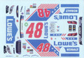 #48 Lowes Charlotte 2017 Jimmie Johnson