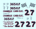 #27 Chamblee Carb-Elec. 55 Chevrolet Bruce Brantley
