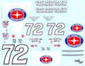 #72 First National City Travelers Checks 1977 Benny Parsons