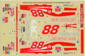 #88 Quality Care Thunderbird 1996 Dale Jarrett