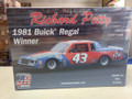 RPB1981D Richard Petty 1981 Buick Regal Winner