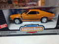 1970 Boss Mustang with shaker hood 1/18 orange