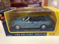1964 Mustang Convertibbe blue 1/24