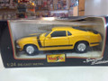 1970 Ford Boss Mustang 1/24 yellow