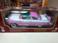 Ford Fairlane Crown Victoria (1955) pink/white 1/18