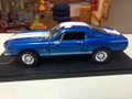 1968 Shelby GT 500KR 1/24 blue