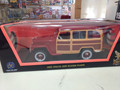 1955 Willys Jeep Station Wagon 1/18 burgundy