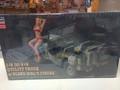 52249 1/4 Ton 4x4 Utility Truck w/blond girl's figure