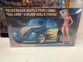 """52245 Volkswagen Beetle Type 1 (1966) """"Cal Look"""" w/Blond Girl's Figure"""