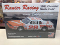 RRMC1981C Ranier Racing 1981 Chevrolet Monte Carlo driven by Bobby Allison