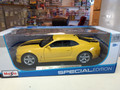 2010 Chevrolet Camaro SS RS 1/18 yellow