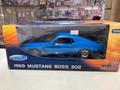 1969 Mustang Boss 302 1/18 blue