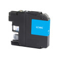 Brother LC105C Cyan Inkjet Cartridge LC-105C Cyan Inkjet Cartridge compatible with the Brother MFC-J4310DW, MFC-J4410DW, MFC-J4510DW, MFC-J4610DW, MFC-J4710DW