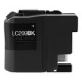 Brother LC209BK Extra High Yield Black Inkjet Cartridge LC-209BK Extra High Yield Black Inkjet Cartridge compatible with the Brother Brother MFC-J4320/4420/4620/4625/5620