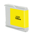 BROTHER LC51 YELLOW GENERIC INK CARTRIDGE