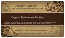Organic Red Henna