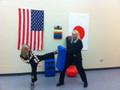 Practice Kicking Shield