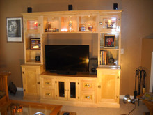 Maple Modular Entertainment Center