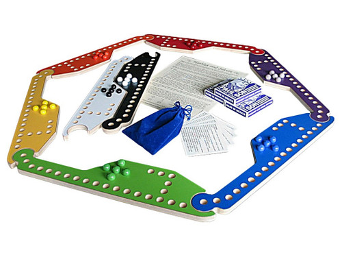 Marbles and Jokers Game comes complete with everything needed to play!
