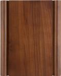 KP-460, walnut plaque w/scrolled edges