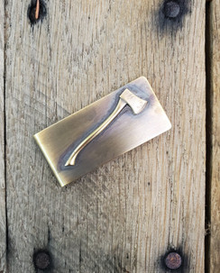 Axe Money Clip