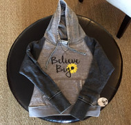 Women's Color Block Zen Fleece Sunflower Hoodie
