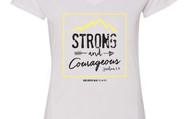 Strong & Courageous - UA Stadium Flow Shirt