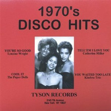 1970's DISCO HITS - V.A.   Tyson Records