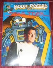 STAR TREK - The Robot Masters - Book & Record
