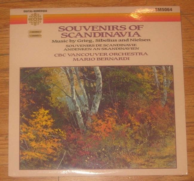 CBC VANCOUVER ORCHESTRA - Souvenirs Of Scandinavia