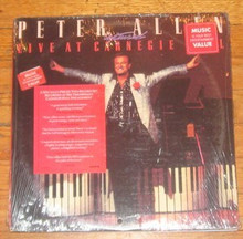 ALLEN, PETER - Live At Carnegie Hall