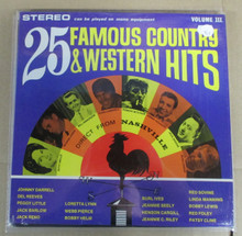25 FAMOUR COUNTRY WESTERN HITS - V.A.