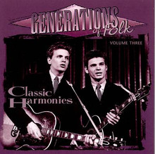GENERATIONS OF FOLK - Vol. 3 Classic Harmonies - Various