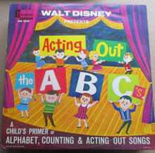 WALT DISNEY - Acting Out The A B C's