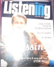 BELL, STEVE  - BLESSINGS - LISTENING audio magazine