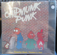 CHIPMUNKS - Chipmunk Punk  LP