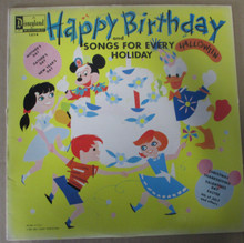 HAPPY BIRTHDAY AND SONGS FOR EVERY HOLIDAY - Disney