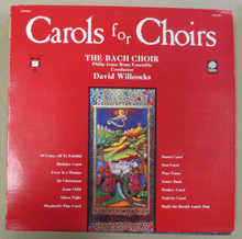 BACH CHOIR - Carols For Choirs