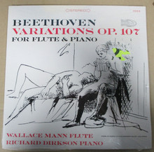 MANN, WALLACE & RICHARD DIRKSON - Beethoven For Flute and Piano