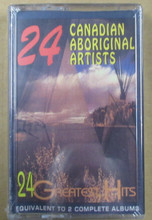 24 CANADIAN ABORIGINAL ARTISTS - V.A.
