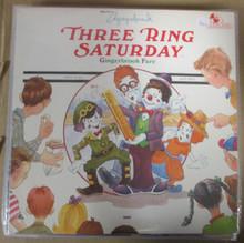 THREE RING SATURDAY - Gingerbrook Fare
